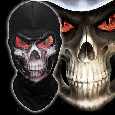 Masquerade Macabre Halloween Party (GRIM mask Grim Reaper Ghost Skull Cosplay Balaclava Halloween Scary Mask)