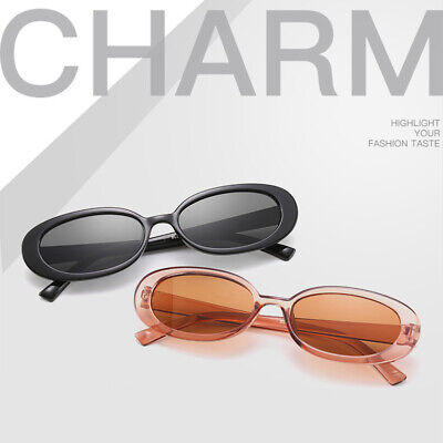 Fashion Women Oval Frame Sunglasses Small Glasses Ladies Retro Sun Glasses (Small Ladies Sunglasses)