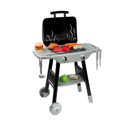 KIDS BBQ PLAY SET CHILDRENS BARBECUE & GRILL SMOBY TOY CHEF ROLEPLAY *QUICK DEL*