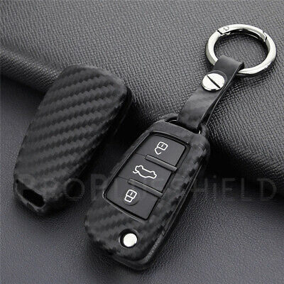 RS Line Audi CARBON Look A3 A4 A5 A6 A8 Q5 7 TT Keyring Key Ring Chain UK Stock