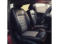 LEATHER SEATCOVERS FOR HONDA INSIGHT SEAT ALHAMBRA SKODA OCTAVIA VAUXHALL INSIGNIA TOYOTA PRIUS BMW