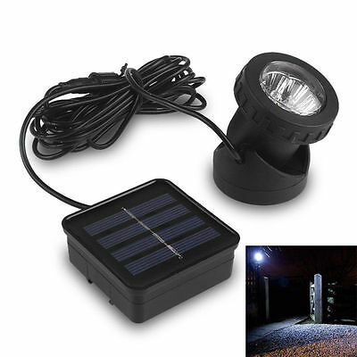Waterproof Solar Powered 6LED Outdoor Garden Yard Lawn Path Light Lamp zhome.us