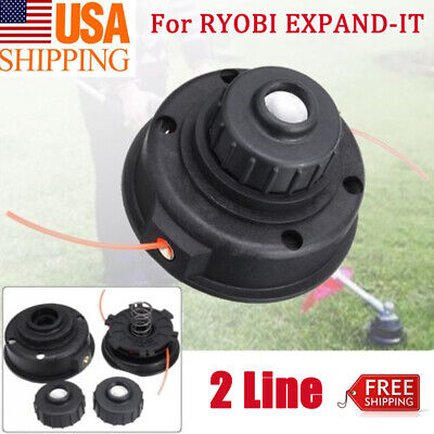For RYOBI EXPAND-IT Universal 2 Line Spool Mower String Trimmer Head Cutting NEW