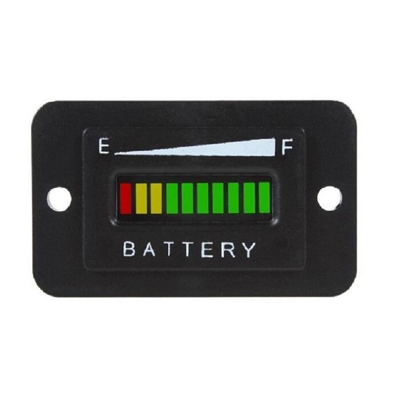 36v volt battery indicator meter gauge for ezgo club car yamaha golf cart moto picclick. Black Bedroom Furniture Sets. Home Design Ideas