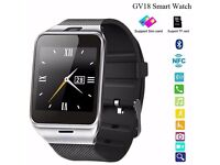 GV18 smart watch (can be linked with your smart phone)(water resistant)sd card