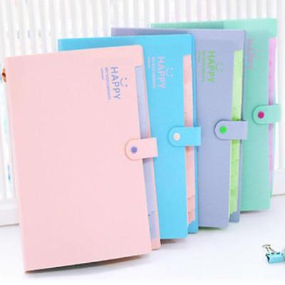 Expandable Document File Folders Bags For Office And School Papers Acrylic Cases