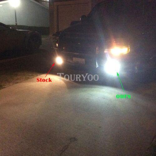 2x 881 6000K White 50W CREE LED Fog Light Driving DRL Bulb 886 889 High Power