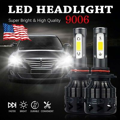 Wholesale Black Lights (AUXITO 9006 16000LM LED Headlight A3 Kit White Bulbs For Dodge GMC Ford)