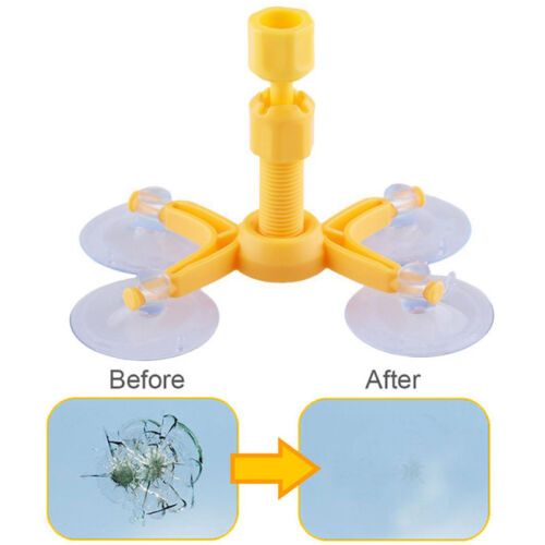 Windscreen Windshield Repair Tool Set DIY Car Kit Wind Glass For Chip Crack NEW
