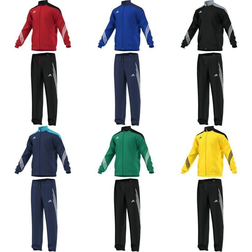 adidas Sereno14 Polyesteranzug Kinder Erwachsene Trainingsanzug Sportanzug  713e2b30292d7