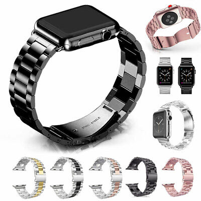 Stainless Steel Wrist Band Strap for Apple Watch Series 5 4 3 2 1 iWatch 40/44mm