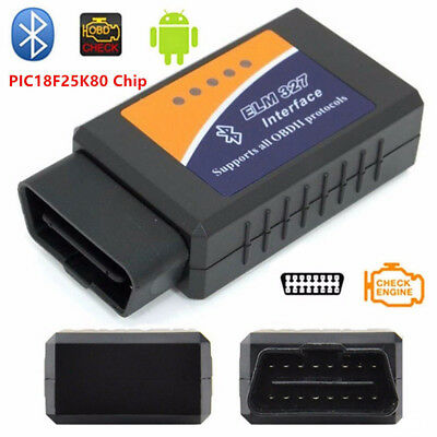 Bluetooth ODB2 OBDII Car Diagnostic Scanner Code Reader ELM327 For Android Phone (Bluetooth Odb2 Scanner)