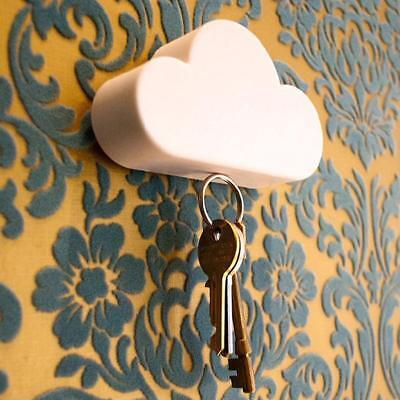 Key Holder Magnet Wall Rack Magnetic Mount Hook Organizer Hanger Storage Cloud