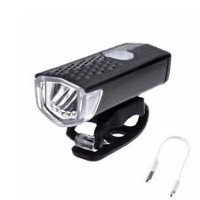 Universal USB Rechargeable Bike Bicycle Light Bright 3Mode Head Taillight Lamp D