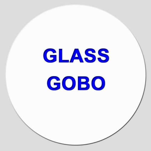 CUSTOM GOBO ****Free Custom Design*****  [1 Color Glass Gobo Disc]