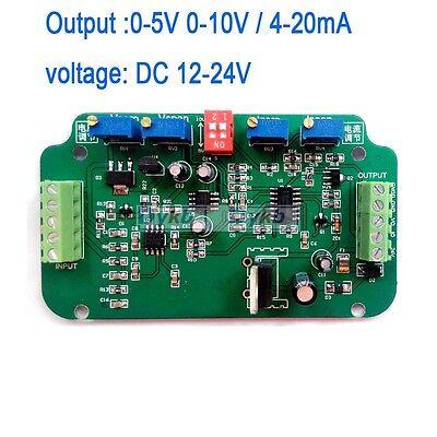 0-10v 4-20ma Load Cell Sensor Amplifier Transmitter Voltage Current Converter