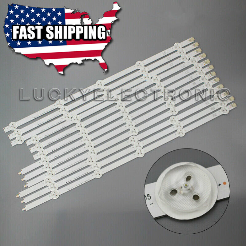 12Pcs LED Strips for LG 50