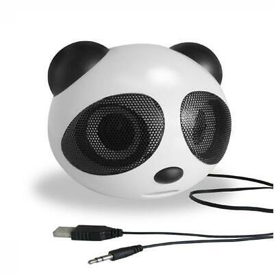 2.0 Panda USB Portable  Audio Lound Bass Speaker For iPod Laptop PC Phone MP3