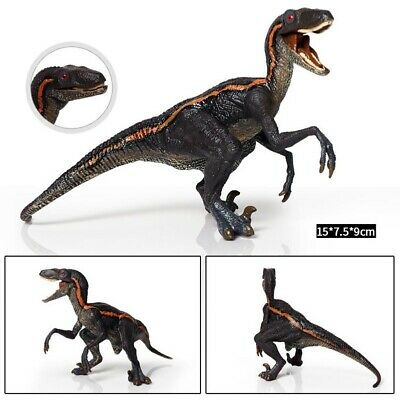 Dinosaur Educational Toys (Gray Velociraptor Model Dinosaur Toys for Child Kids Educational Toy Figure)