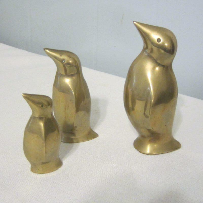 Brass Penguins - Family of 3 - Made In Korea