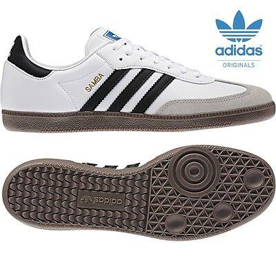 adidas ORIGINALS Samba weiß / schwarz Klassiker Sneaker  Größen 6 bis 12[G17102] ()