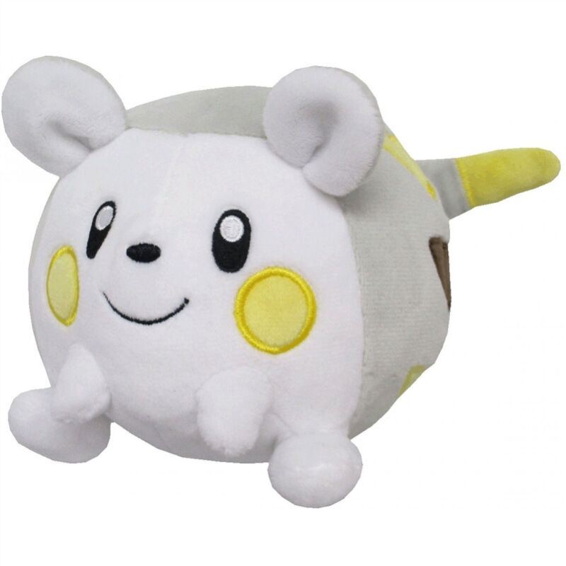 """REAL AUTHENTIC  Sanei Pokemon All Star   4"""" Plush Doll PP58 Togedemaru"""