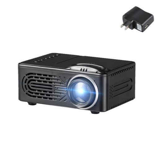 3D 1080P Full HD Mini Projector LED Multimedia Home Theater USB VGA HDMI TV AV Z