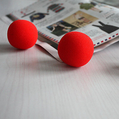 New 10PCS Close-Up Magic Street Classical Comedy Trick Soft Red Sponge Ball GG - $6.61