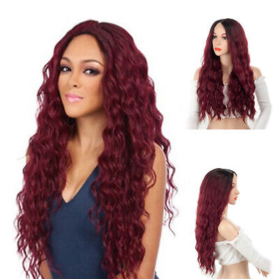 Fashion Hot Girl Long Synthetic Curly Hair Women Wavy Cosplay Costume Wig - Girl Costume Hair Wig