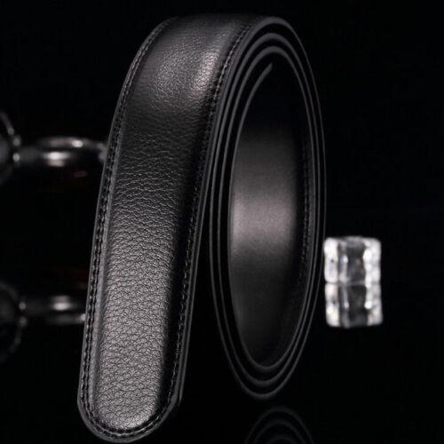 Luxury Men's Genuine Leather Automatic Buckle Belts Waist Strap Belt Waistband