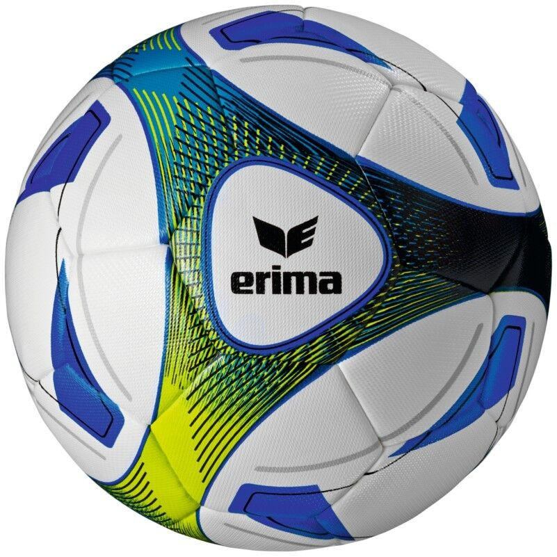 erima Hybrid Training Trainingsfußball weiß/blau/hellgrün [719505]