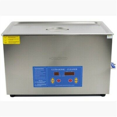 Professional 20l Liter Digital Ultrasonic Cleaner Timerheater Wcleaning Bas Yv