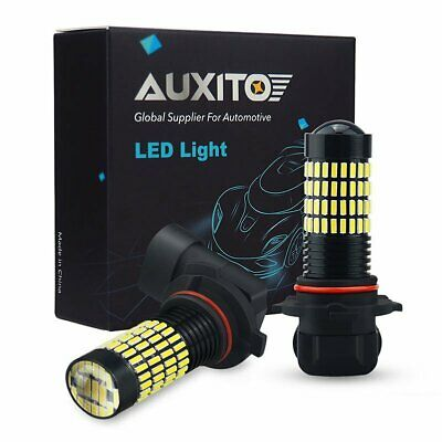 Bmw Fog Light Bulb - AUXITO 9006 White LED Fog Light Bulb Fit For RAM 1500 2500 3500 2013-2015 6000K