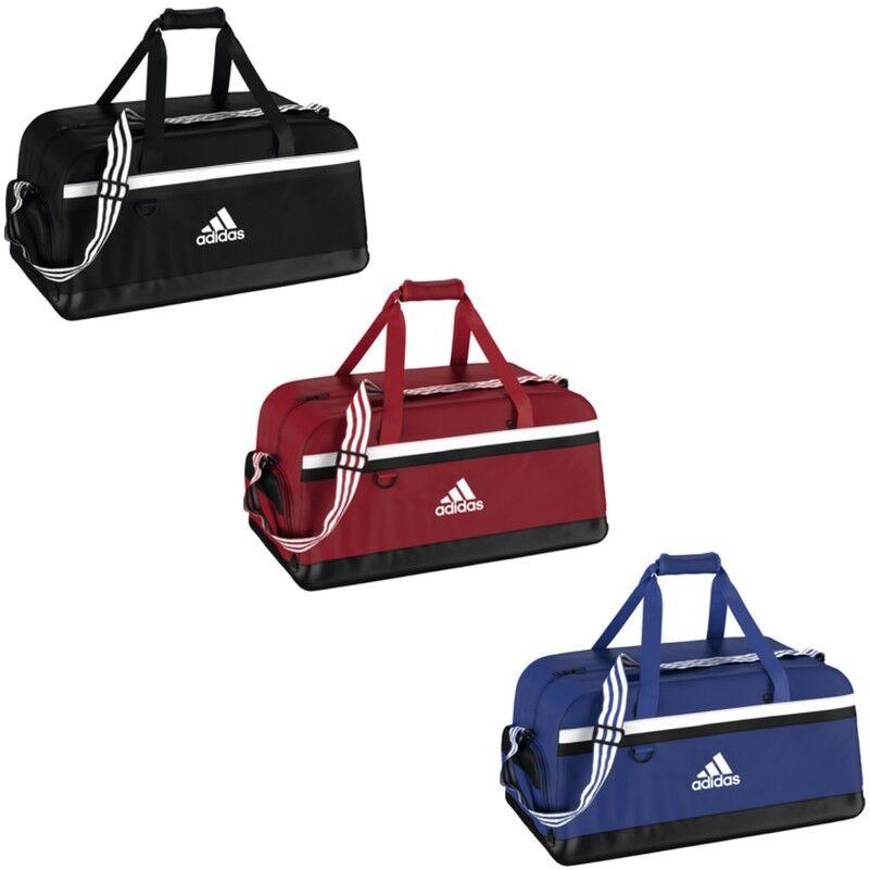 adidas TIRO Teambag Sporttasche Gr. L schwarz  blau  rot (S30251,S13304,S30253)