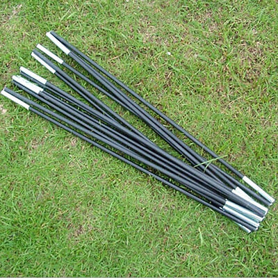 Reliable Black Fiberglass Tent Pole Kit 7 Sections C&ing Travel Replacement EF & Tent u0026 Canopy Accessories - Tent Pole Replacement - 9 - Trainers4Me