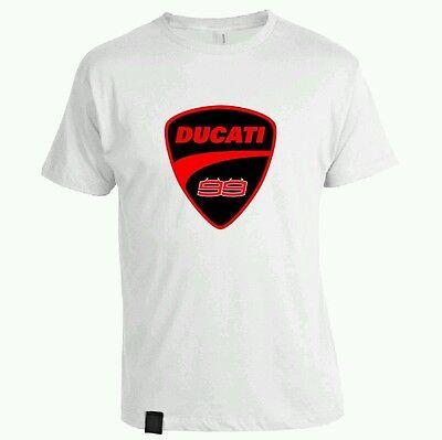 Camiseta Algodon Jorge Lorenzo 99 Ducati