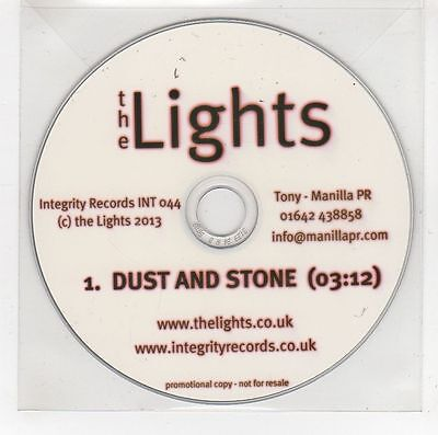 (GG998) The Lights, Dust and Stone - 2013 DJ CD