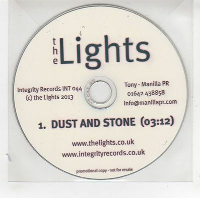 (GG925) The Lights, Dust And Stone - 2013 DJ CD