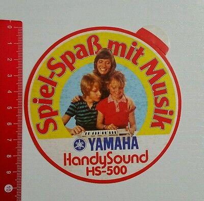 Aufkleber/Sticker: Yamaha Handy Sound HS 500 (15061697) Handy-sound