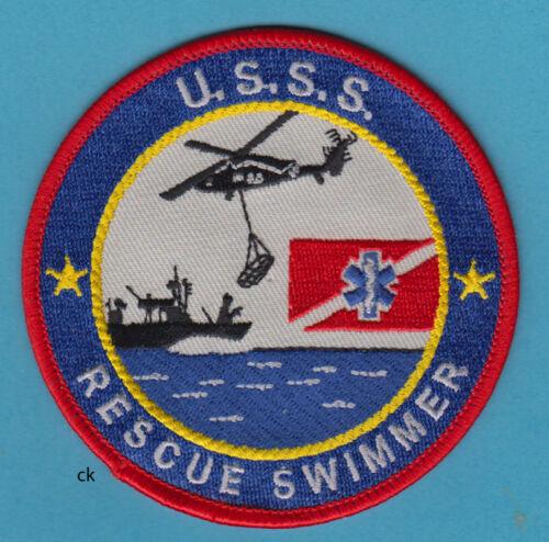 US SECRET SERVICE RESCUE SWIMMER DIVE FLAG  POLICE SHOULDER PATCH