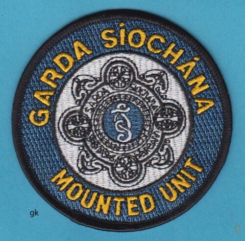 GARDA SIOCHANA IRELAND MOUNTED UNIT POLICE SHOULDER PATCH
