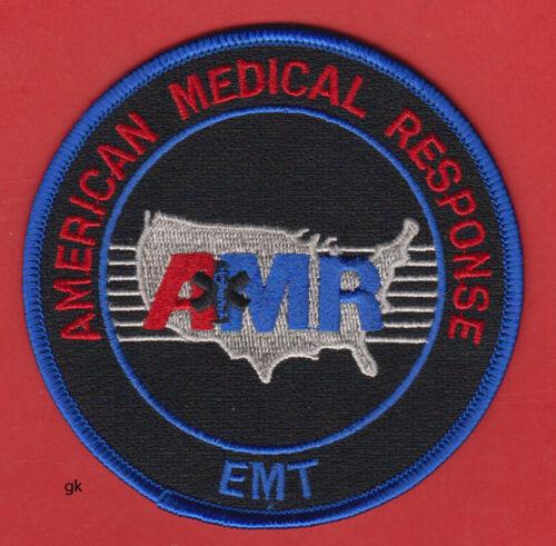 AMR EMT BLACK AMERICAN MEDICAL RESPONSE SHOULDER PATCH