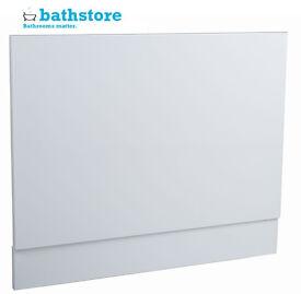 40x Bathstore Gloss White bath end with plenth 700
