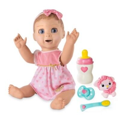 Luvabella Blonde Hair Responsive Baby Doll