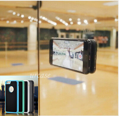 Anti Gravity Nano Suction Case Stick Phone Hold Case Cover Iphone  Samsung Goat