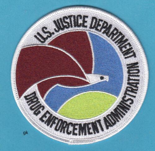 DEA DRUG ENFORCEMENT ADMINISTRATION  US JUSTICE DEPT POLICE SHOULDER PATCH