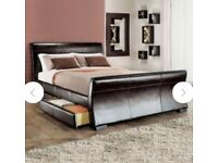 Single faux bed with storage
