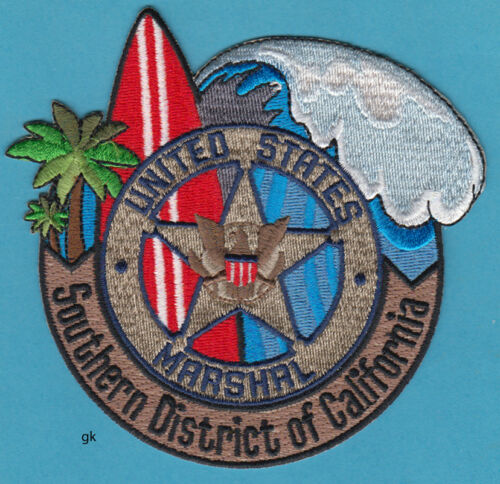 US MARSHAL SOUTHERN CALIFORNIA  SHOULDER PATCH.