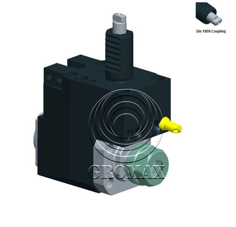 Br4018093290 Cnc Lathe Vdi Backward Radial Drilling-milling Holder D=40mm