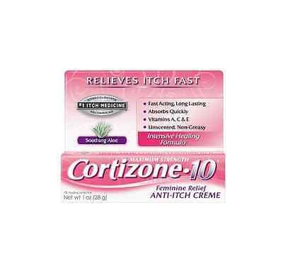 Feminine Relief - Cortizone-10 Feminine Relief Anti-Itch Creme 1 oz